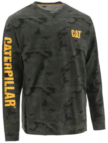 Cat Men's Long Sleeves Tee