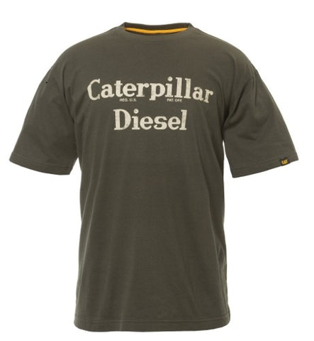 "Cat Men's ""Caterpillar Diesel"" Tee"