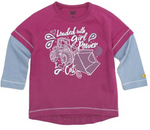 """Loaded with Girl Power"" Tagless Long Sleeve T-Shirt"