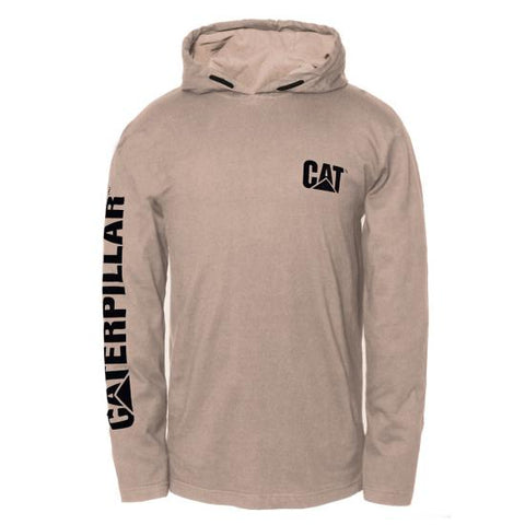 Cat Men's Hooded Long Sleeves Tee