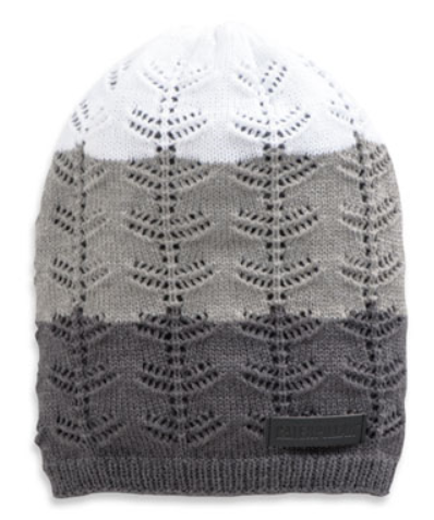 Ombre Knit Pattern Beanie