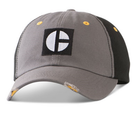 Distressed Two Tone C-Block Cap