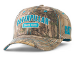 Caterpillar Camo and Turquoise Adjustable Cap