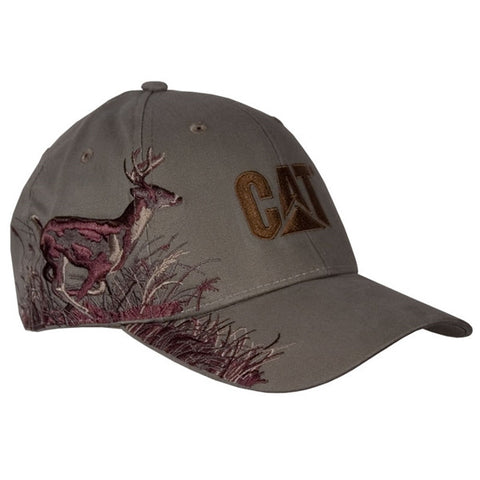 Cat Running Buck Wildlife Cap
