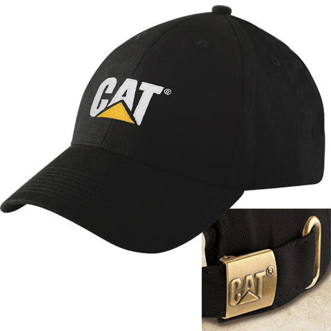Cat Trademark Logo Structured Adjustable Cap