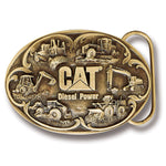 "Cat Men's ""Diesel Power"" Belt Buckle"