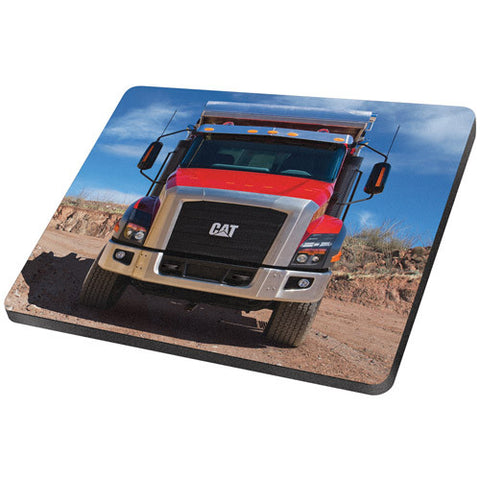 Cat On Highway Truck Mouse Pad
