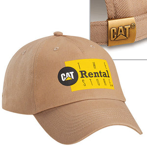 Khaki Cat Rental Store Cap