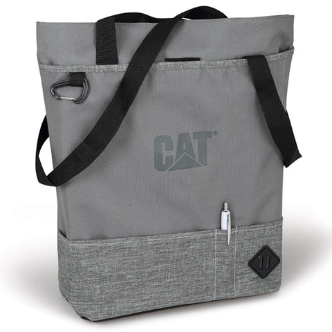 Cat Ladies' Poly-Canvas Zippered Tote