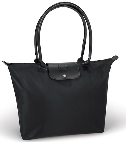 Structured Zippered Tote