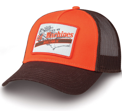 Cat Machines Mesh Cap