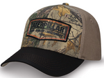 Caterpillar Camo Adjustable Cap