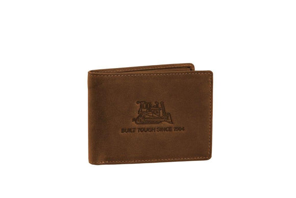 Antique Brown Leather Bifold