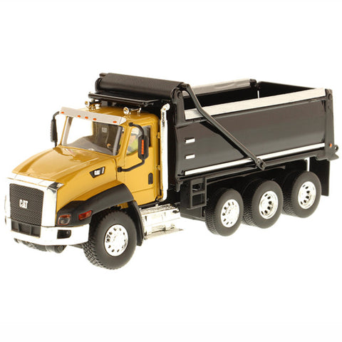 Cat CT660 Dump Truck Diecast Model