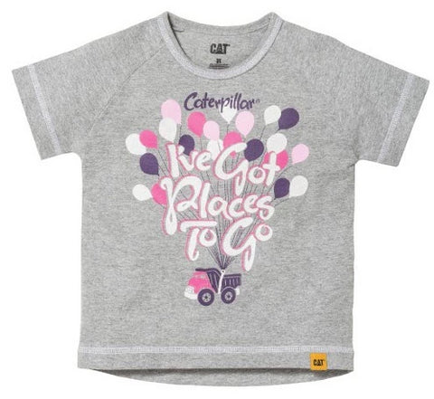 """I've Got Places to Go"" Balloon T-Shirt"