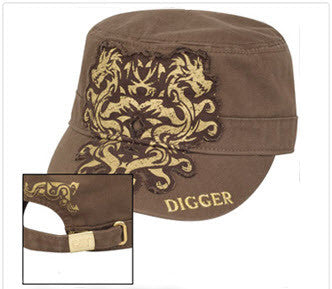"Cat Ladies' ""Digger"" Cap"