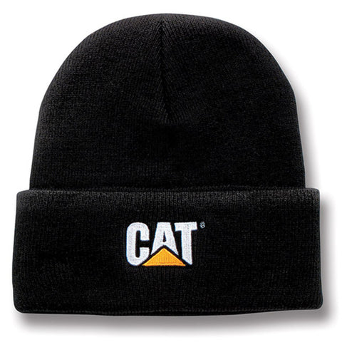 Cat Trademark Logo Knit Beane