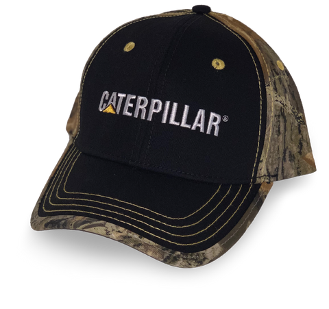 Base Camp Camo Caterpillar Hat