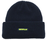 Grid Pattern Caterpillar Beanie