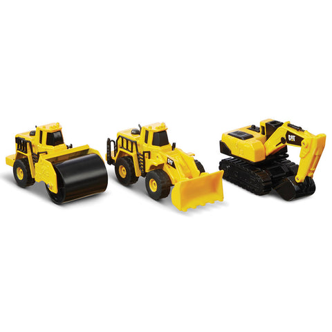 "Cat Mini 4"" Machines 3 Pack"