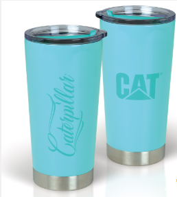 20 oz. Cursive Caterpillar Tumbler