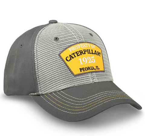 Property of Caterpillar Patch Cap