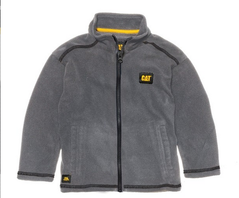 Cat Fleece Zip Jacket