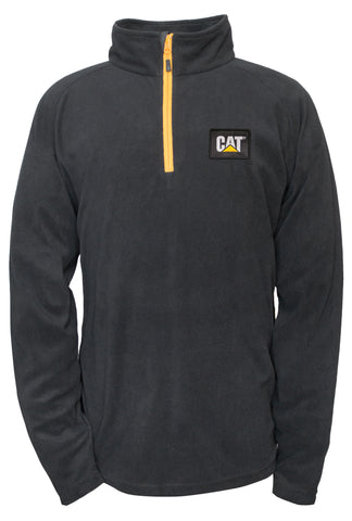 Cat Men's Fleece Pullover Jacket
