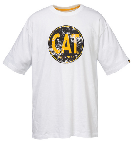Cat Men's Equipment Stamp Tee