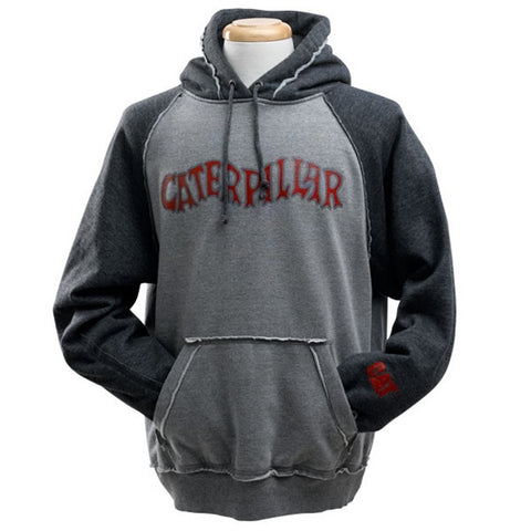 Vintage Caterpillar Hooded Sweatshirt