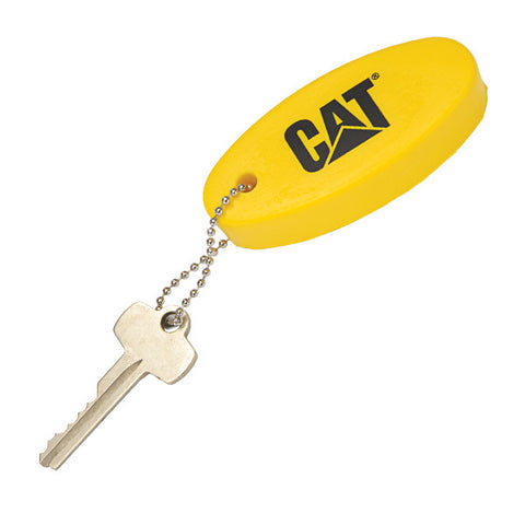 Floating Oval Key Chain