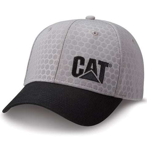 Gray and Black Hex Cap
