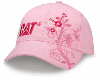 Adjustable Floral Design Cap