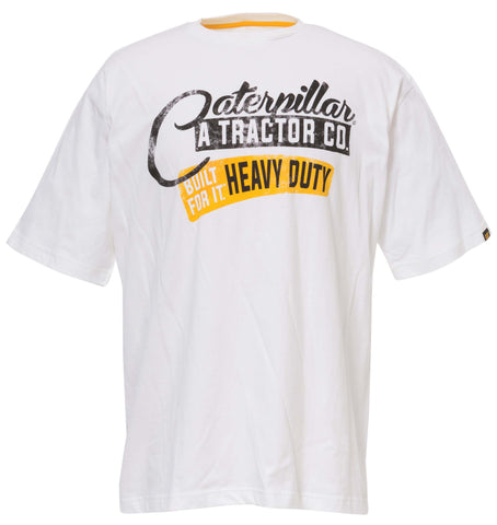 "Cat Men's ""Heavy Duty"" Tee"