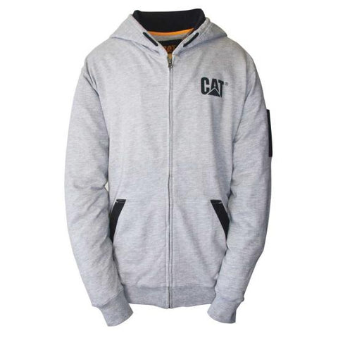 Cat Men's Lightweight Full Zip Hoodie