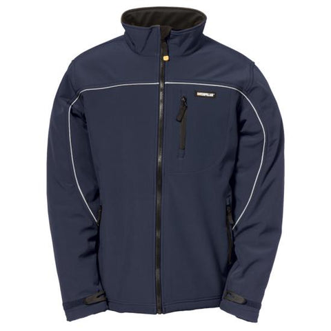 Cat Men's Soft Shell Jacket