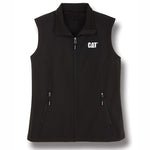 Ladies High Collar Soft Shell Vest