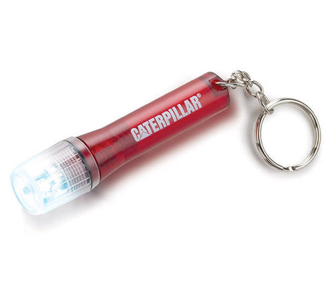 Red Flashlight Key Chain