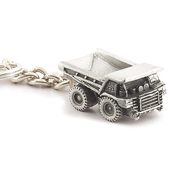 Pewter Off Highway Truck Key Tag