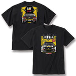 Cat Racing Men's Race Car Tee