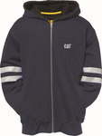 Cat Men's Reflective Stripe Hoodie