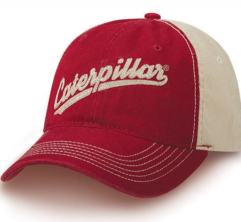 Retro Caterpillar Two Tone Cap