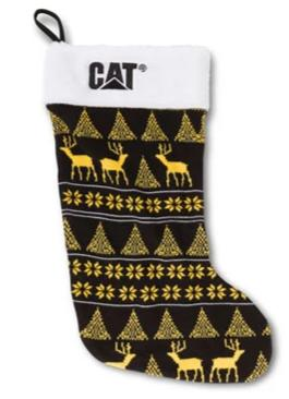 Cat Ugly Holiday Christmas Stocking