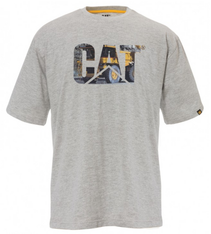 Cat Men's Trademark Logo Tee