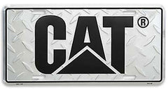 Treadplate License Plate