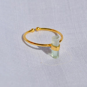 The Adjustable Tourmaline ring