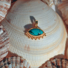 Load image into Gallery viewer, Mata eye pendant - Turquoise
