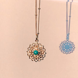 Lotus flower - Turquoise (Limited Edition)
