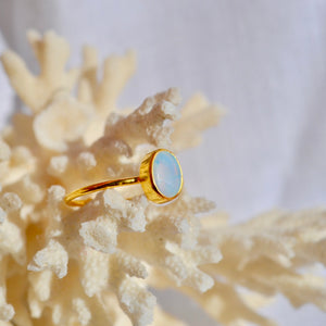 The Adjustable Opal ring