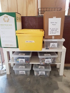 In Store Recycling Station